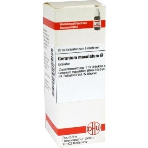 GERANIUM MACUL URT, 20 ML, Dhu-Arzneimittel GmbH & Co. KG