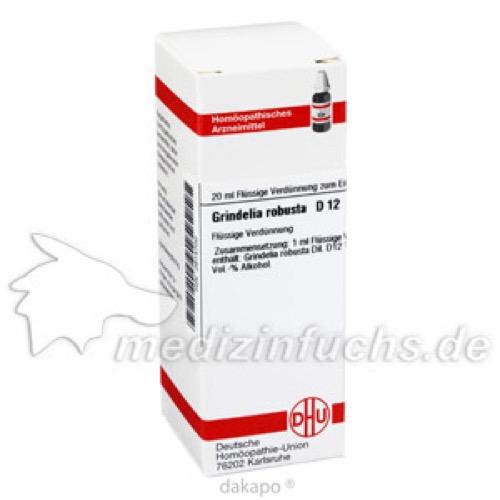 GRINDELIA ROBUSTA D12, 20 ML, Dhu-Arzneimittel GmbH & Co. KG
