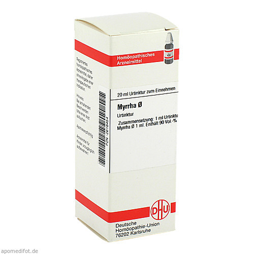 MYRRHA URT D 1, 20 ML, Dhu-Arzneimittel GmbH & Co. KG