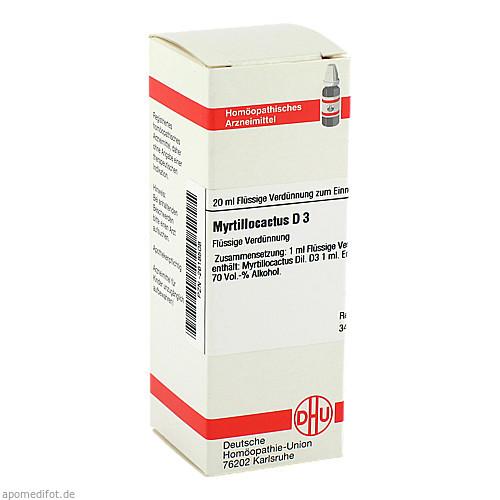 MYRTILLOCACTUS D 3, 20 ML, Dhu-Arzneimittel GmbH & Co. KG