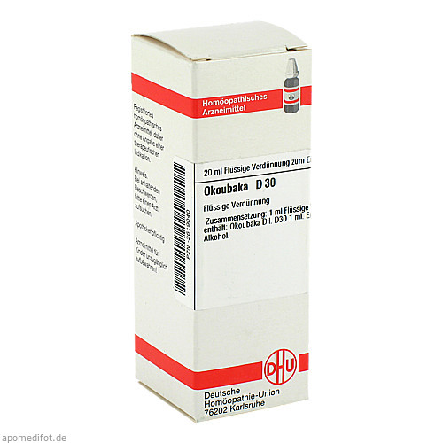 OKOUBAKA D30, 20 ML, Dhu-Arzneimittel GmbH & Co. KG