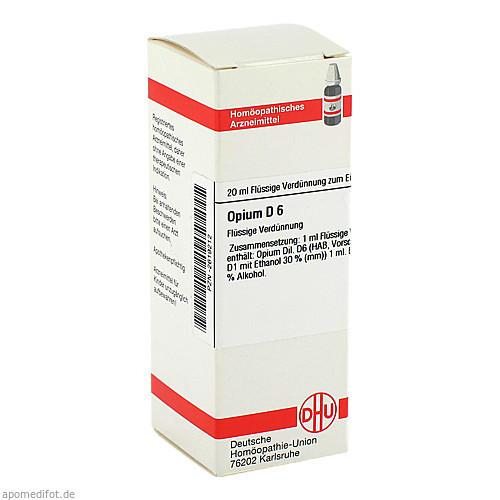 OPIUM D 6, 20 ML, Dhu-Arzneimittel GmbH & Co. KG