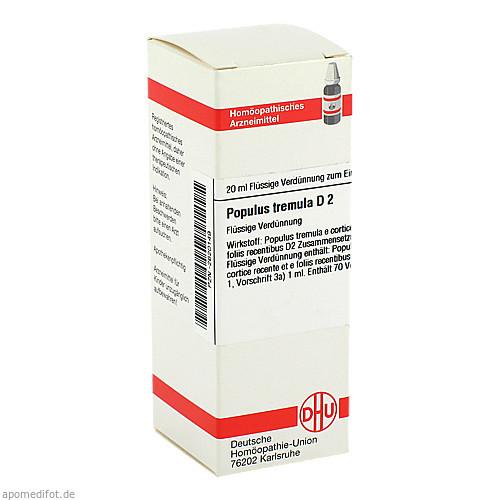 POPULUS TREMULA D 2, 20 ML, Dhu-Arzneimittel GmbH & Co. KG