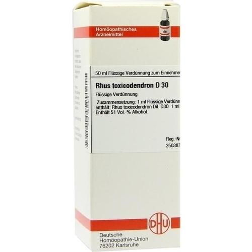 RHUS TOX D30, 50 ML, Dhu-Arzneimittel GmbH & Co. KG