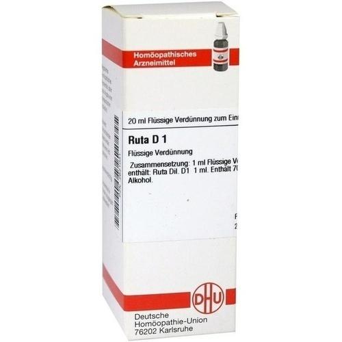RUTA D 1, 20 ML, Dhu-Arzneimittel GmbH & Co. KG
