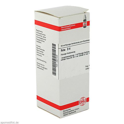 RUTA D 4, 50 ML, Dhu-Arzneimittel GmbH & Co. KG