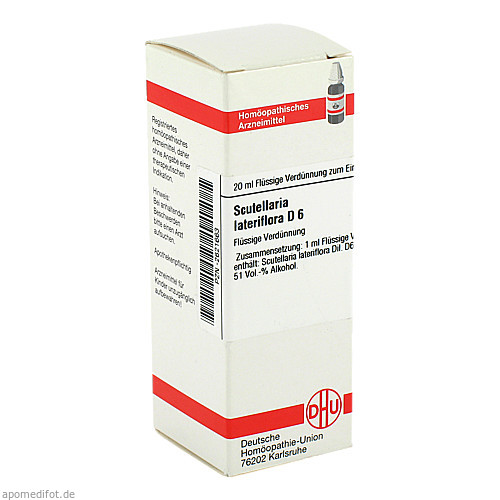 SCUTELLARIA LAT D 6, 20 ML, Dhu-Arzneimittel GmbH & Co. KG