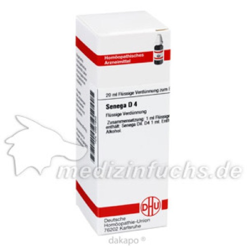 SENEGA D 4, 20 ML, Dhu-Arzneimittel GmbH & Co. KG