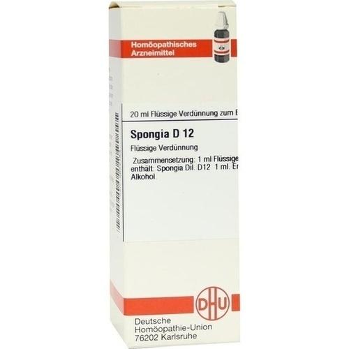 SPONGIA D12, 20 ML, Dhu-Arzneimittel GmbH & Co. KG