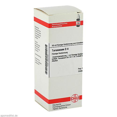 TARAXACUM D 4, 50 ML, Dhu-Arzneimittel GmbH & Co. KG