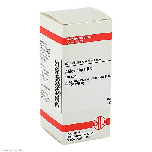 ABIES NIGRA D 6, 80 ST, Dhu-Arzneimittel GmbH & Co. KG