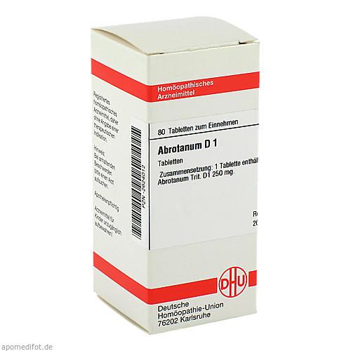 ABROTANUM D 1, 80 ST, Dhu-Arzneimittel GmbH & Co. KG