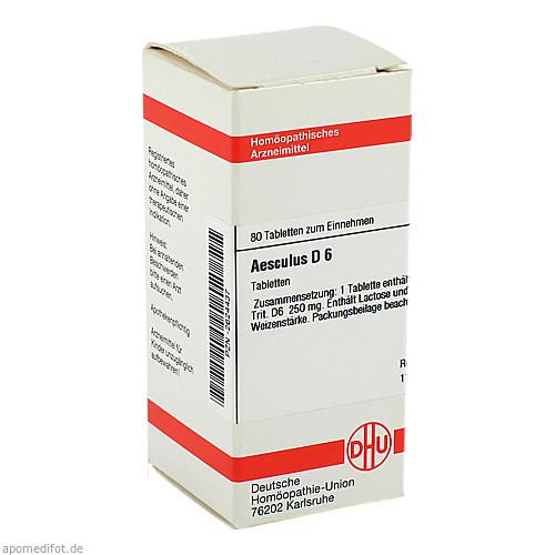AESCULUS D 6, 80 ST, Dhu-Arzneimittel GmbH & Co. KG