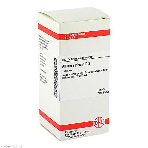 ALLIUM SATIVUM D 2, 200 ST, Dhu-Arzneimittel GmbH & Co. KG