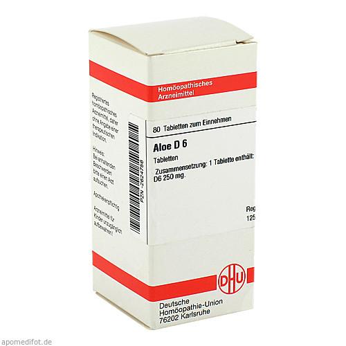 ALOE D 6, 80 ST, Dhu-Arzneimittel GmbH & Co. KG