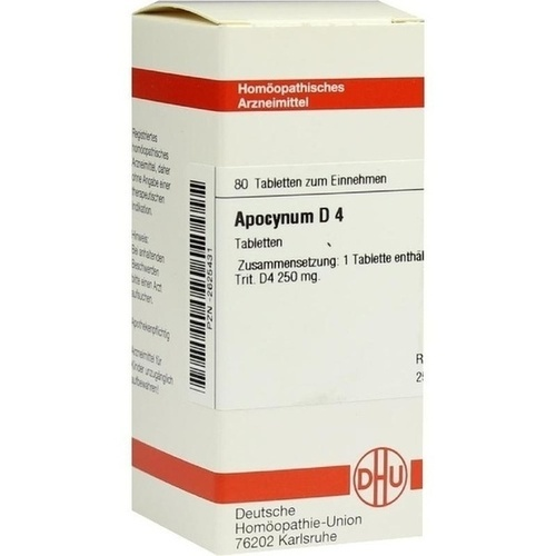 APOCYNUM D 4, 80 ST, Dhu-Arzneimittel GmbH & Co. KG