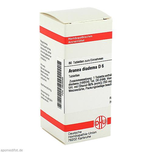 ARANEA DIADEMA D 6, 80 ST, Dhu-Arzneimittel GmbH & Co. KG