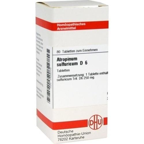 ATROPINUM SULF D 6, 80 ST, Dhu-Arzneimittel GmbH & Co. KG