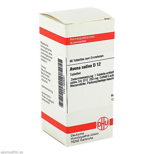AVENA SATIVA D12, 80 ST, Dhu-Arzneimittel GmbH & Co. KG