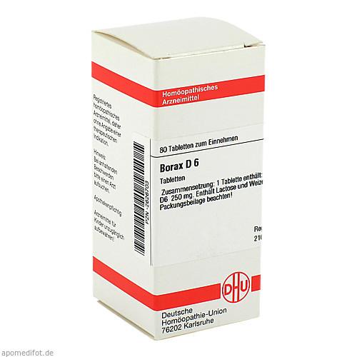BORAX D 6, 80 ST, Dhu-Arzneimittel GmbH & Co. KG