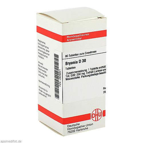 BRYONIA D30, 80 ST, Dhu-Arzneimittel GmbH & Co. KG