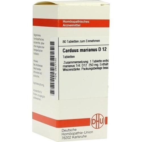 CARDUUS MAR D12, 80 ST, Dhu-Arzneimittel GmbH & Co. KG