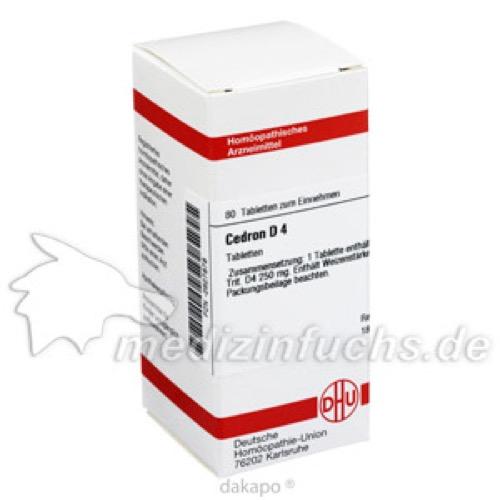 CEDRON D 4, 80 ST, Dhu-Arzneimittel GmbH & Co. KG