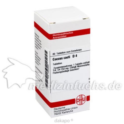 COCCUS CACTI D 4, 80 ST, Dhu-Arzneimittel GmbH & Co. KG