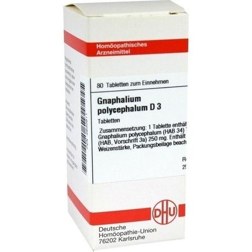 GNAPHALIUM POLYC D 3, 80 ST, Dhu-Arzneimittel GmbH & Co. KG