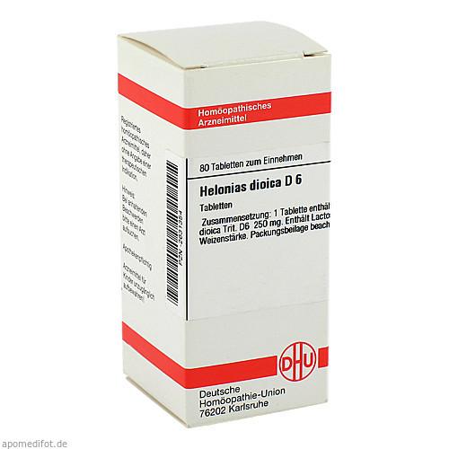 HELONIAS DIOIC D 6, 80 ST, Dhu-Arzneimittel GmbH & Co. KG