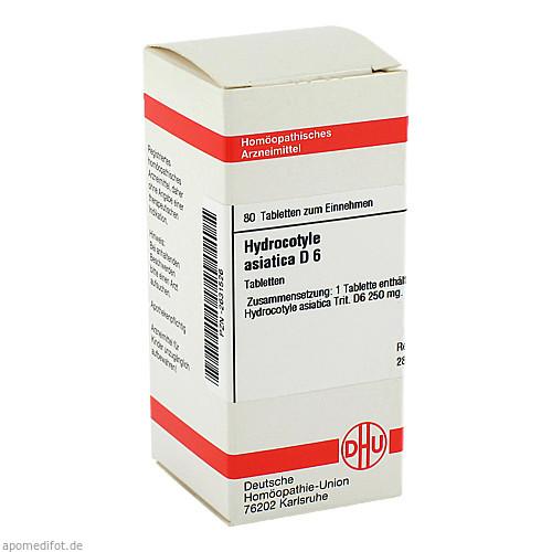 HYDROCOTYLE ASIATICA D 6, 80 ST, Dhu-Arzneimittel GmbH & Co. KG