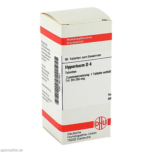 HYPERICUM D 4, 80 ST, Dhu-Arzneimittel GmbH & Co. KG