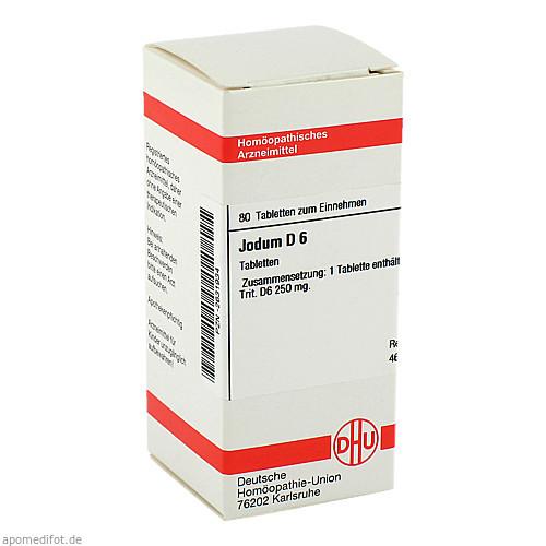 JODUM D 6, 80 ST, Dhu-Arzneimittel GmbH & Co. KG