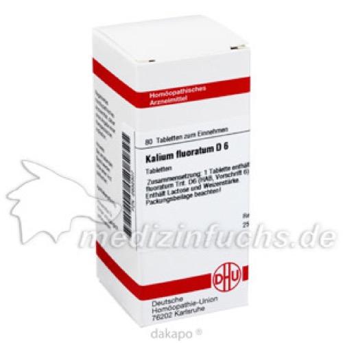 KALIUM FLUOR D 6, 80 ST, Dhu-Arzneimittel GmbH & Co. KG