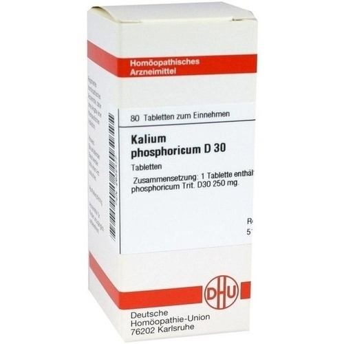 KALIUM PHOS D30, 80 ST, Dhu-Arzneimittel GmbH & Co. KG