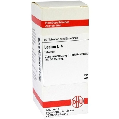LEDUM D 4, 80 ST, Dhu-Arzneimittel GmbH & Co. KG
