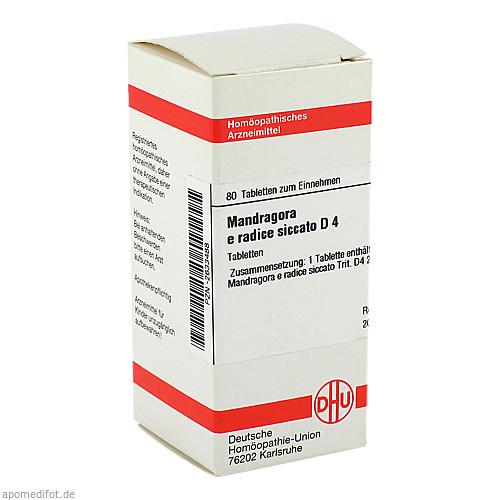 MANDRAGORA E RADIC SIC D 4, 80 ST, Dhu-Arzneimittel GmbH & Co. KG