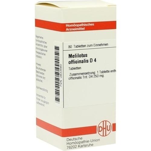 MELILOTUS OFFIC D 4, 80 ST, Dhu-Arzneimittel GmbH & Co. KG