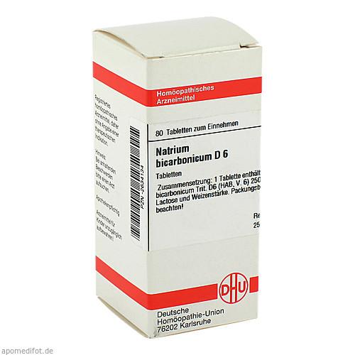 NATRIUM BICARB D 6, 80 ST, Dhu-Arzneimittel GmbH & Co. KG
