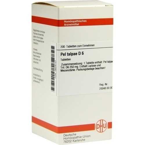 PEL TALPAE D 6, 200 ST, Dhu-Arzneimittel GmbH & Co. KG