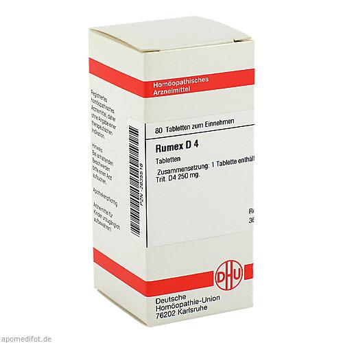 RUMEX D 4, 80 ST, Dhu-Arzneimittel GmbH & Co. KG
