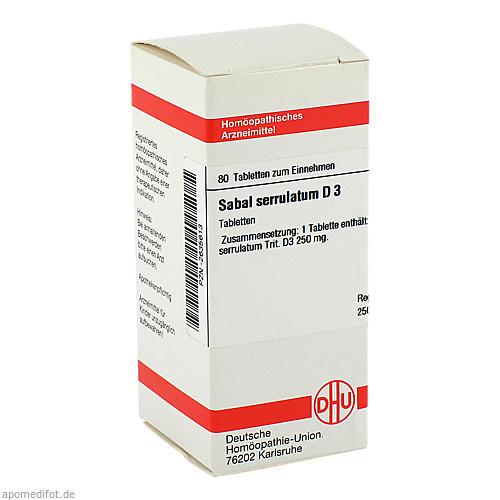 SABAL SERRUL D 3, 80 ST, Dhu-Arzneimittel GmbH & Co. KG