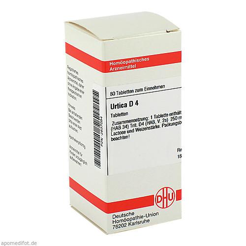 URTICA D 4, 80 ST, Dhu-Arzneimittel GmbH & Co. KG