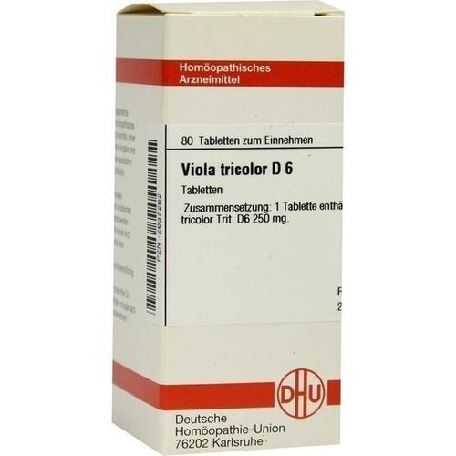 VIOLA TRICOLOR D 6, 80 ST, Dhu-Arzneimittel GmbH & Co. KG