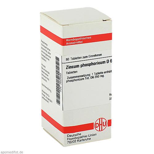 ZINCUM PHOSPHORICUM D 6, 80 ST, Dhu-Arzneimittel GmbH & Co. KG