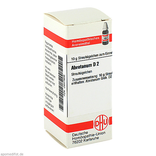 ABROTANUM D 2, 10 G, Dhu-Arzneimittel GmbH & Co. KG