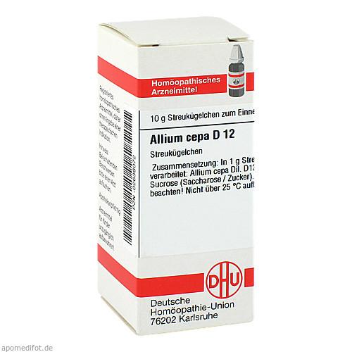 ALLIUM CEPA D12, 10 G, Dhu-Arzneimittel GmbH & Co. KG