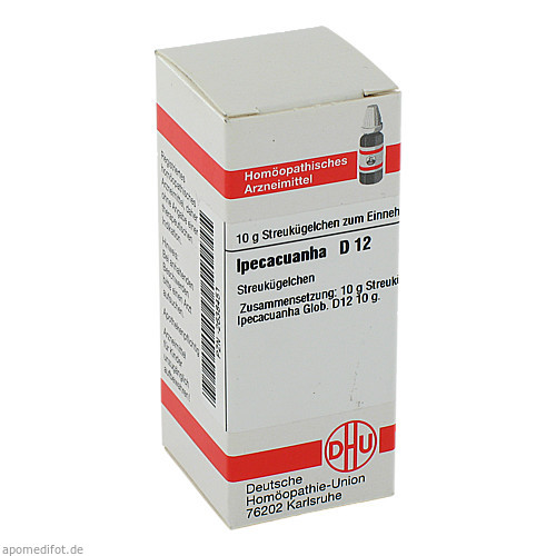 IPECACUANHA D12, 10 G, Dhu-Arzneimittel GmbH & Co. KG