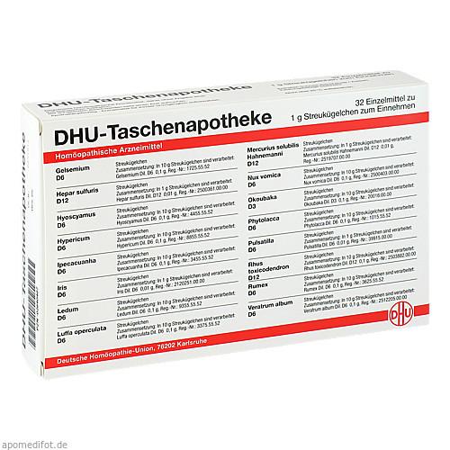 DHU-Taschenapotheke, 32X1 G, Dhu-Arzneimittel GmbH & Co. KG