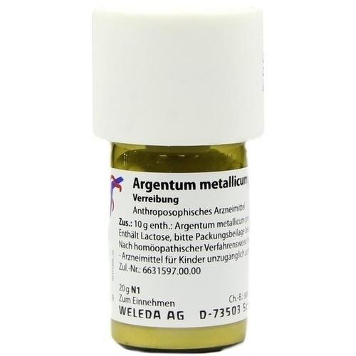 ARGENTUM MET PRAEP D20, 20 G, Weleda AG